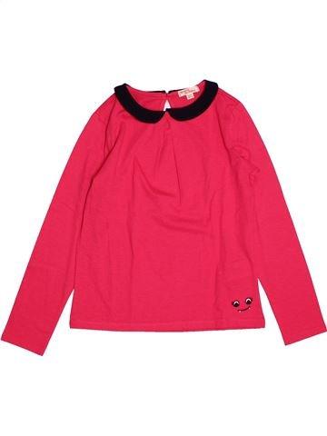 72ea432a65245 T-shirt manches longues fille DPAM rouge 8 ans hiver  1695171 1