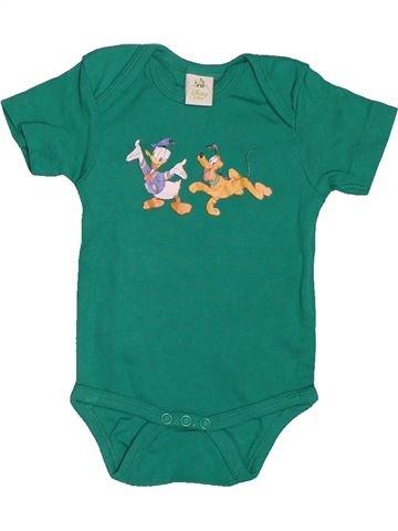 6d88304edb6c9 T-shirt manches courtes garçon DISNEY vert 3 mois été  1695812 1. 0