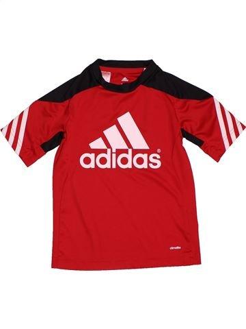 b99adfc6a10c8 vêtements ADIDAS enfant. Maillot de sport garçon ADIDAS rouge 8 ans été   1696217 1