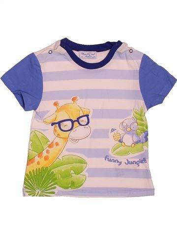 d07d12aee Camiseta de manga corta niño MAYORAL rosa 12 meses verano  1696528 1. 0