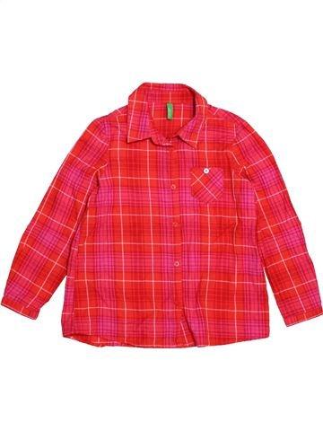 0be74e92b Blusa de manga larga niña BENETTON rojo 7 años invierno #1718477_1