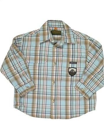 Camisa de manga larga niño TIMBERLAND gris 2 años invierno #814863_1