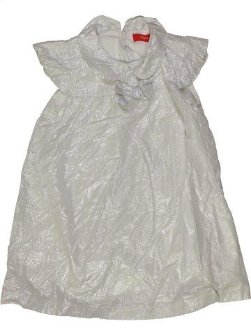 Robe fille TISSAIA gris 2 ans été #831930_1