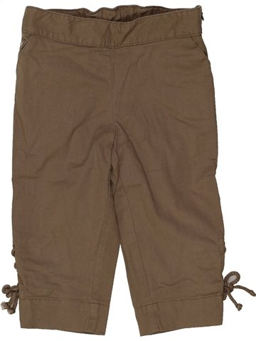 Pantalón corto niña LILI GAUFRETTE marrón 2 años verano #908942_1