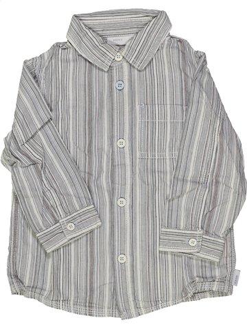 Chemise manches longues garçon MEXX gris 2 ans hiver #918535_1