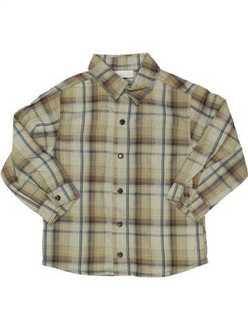 Camisa de manga larga niño BERLINGOT beige 2 años invierno #919586_1