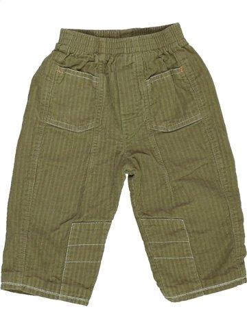 Pantalon garçon SUCRE D'ORGE vert 12 mois hiver #928812_1